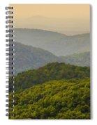 Scenery Around Lake Jocasse Gorge Spiral Notebook