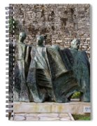 Views From Corfu Greece Spiral Notebook