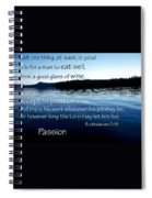 21048 Passion 2 Spiral Notebook