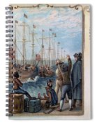 Boston Tea Party, 1773 Spiral Notebook