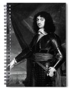 Charles II (1630-1685) Spiral Notebook