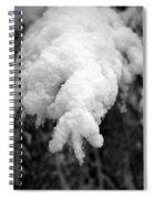 First Snow In Kovero Spiral Notebook