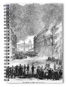 Paris Commune, 1871 Spiral Notebook