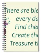 223- Blessings Spiral Notebook