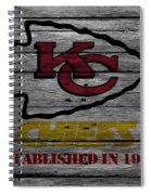 Kansas City Chiefs Spiral Notebook
