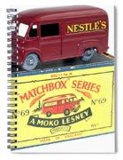 Matchbox 1-75 Spiral Notebook
