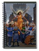 23. The Holy Spirit Arrives / From The Passion Of Christ - A Gay Vision Spiral Notebook