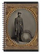 Civil War Soldier, C1863 Spiral Notebook