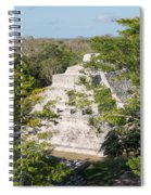 Edzna In Campeche Spiral Notebook
