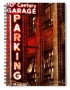 24-hour Garage Spiral Notebook