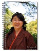 Japanese Women Spiral Notebook