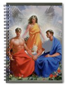 24. The Trinity / From The Passion Of Christ - A Gay Vision Spiral Notebook
