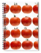 24 Tomatoes Spiral Notebook