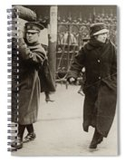 Wwi Refugees, 1918 Spiral Notebook