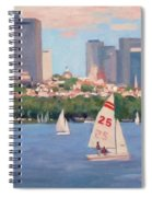25 On The Charles Spiral Notebook