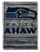 Seattle Seahawks Spiral Notebook