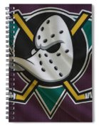 Anaheim Ducks Spiral Notebook