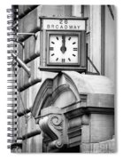 26 Broadway B And W Spiral Notebook