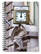 26 Broadway Spiral Notebook