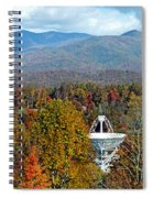 26 East And The Blueridge Panoramic Spiral Notebook
