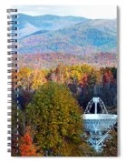 26 East Antenna And The Blueridge Spiral Notebook