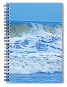 Hurricane Storm Waves Spiral Notebook