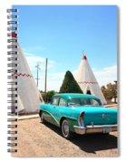Route 66 Wigwam Motel Spiral Notebook