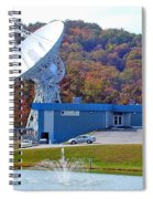 26 West Antenna And Research Building Spiral Notebook