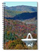 26 West Antenna And The Blueridge Spiral Notebook
