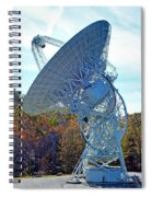 26 West Antenna At Pari Spiral Notebook