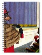 Dachshund Art Canvas Print Spiral Notebook