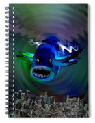 278 -   The Custodian Of Atlantis Spiral Notebook