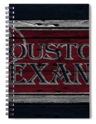 Houston Texans Spiral Notebook
