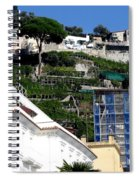 Views From The Amalfi Coast In Italy Spiral Notebook