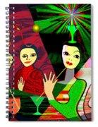 280 -  Wild Celebration   Spiral Notebook