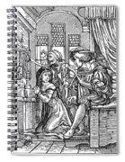 Dance Of Death, 1538 Spiral Notebook