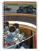 '29 Ford With '32 Ford Reflection Spiral Notebook