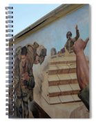 29 Palms Mural 4 Spiral Notebook
