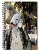 Bedlington Terrier Art Canvas Print Spiral Notebook