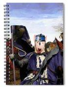Bull Terrier Art Canvas Print Spiral Notebook