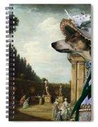 Chart Polski - Polish Greyhound Art Canvas Print Spiral Notebook