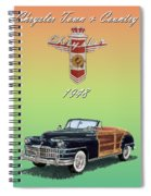 1948 Chrysler Town And Country Spiral Notebook