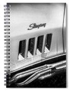 1969 Chevrolet Corvette 427  Bw Spiral Notebook
