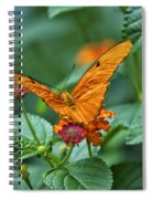 3 2 1 Prepare For Butterfly Liftoff Spiral Notebook