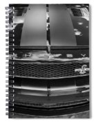 2008 Ford Shelby Mustang Gt500 Kr Painted Bw  Spiral Notebook