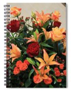 A Gallery's Flowers Spiral Notebook