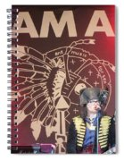 Adam Ant Spiral Notebook