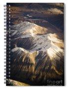 Aerial Mountains Spiral Notebook