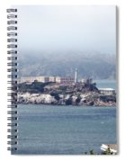 Alcatraz Spiral Notebook