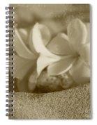 Aloha'lani Pua Melia Lei Manakai Spiral Notebook